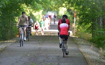 West Plains Missouri Bike Route